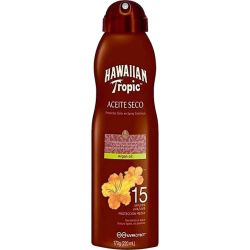 Hawaiian Tropic Aceite Seco Protetor Solar SPF/FPS 15 - Spray 220ml