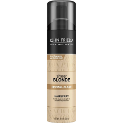 John Frieda Sheer Blonde Crystal Clear Hairspray - 241g