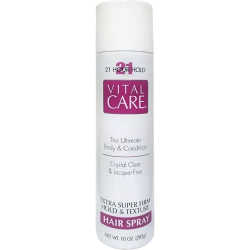 Vital Care 21h Extra Super Firm Hold and Texture Hair Spray - 283g