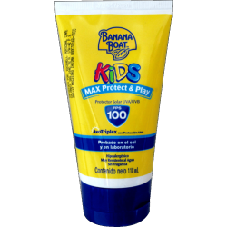 Banana Boat Kids Max Protect & Play Fps 100 - 118ml