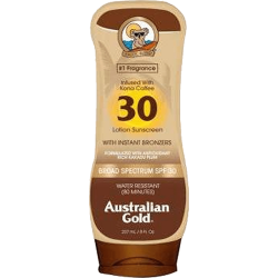 Australian Gold Sunscreen With Instant Bronzer Spf 30 - Lotion 237ml