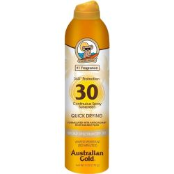 Australian Gold Continuous Sunscreen Quick Drying SPF 30 Spray - 177ml