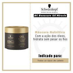 Schwarzkopf BC Bonacure Hairtherapy Oil Miracle Gold Shimmer Treatment 5,1 oz Máscara - 150ml